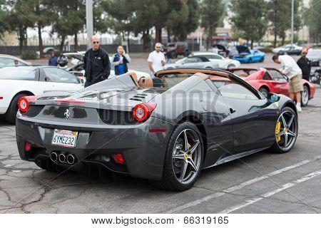 Ferrari on exhibition at the annual event Supercar Sunday Ferrari Day
