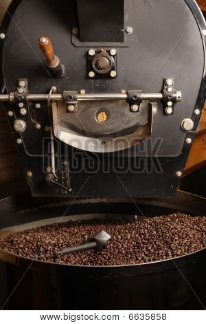 Roaster Cooling Coffee Beans