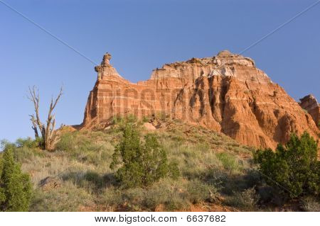 Capitol Peak In Palo Duro Canyon