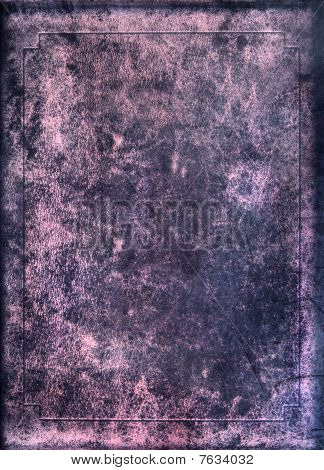 Texture Of Old Book Cover