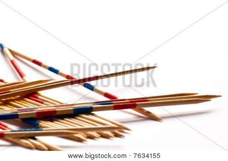 Pile Of Sharp Spillikins