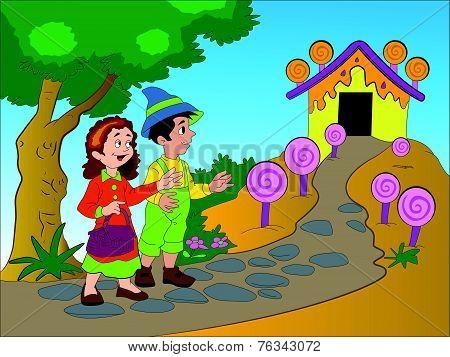 Hansel And Gretel, Illustration