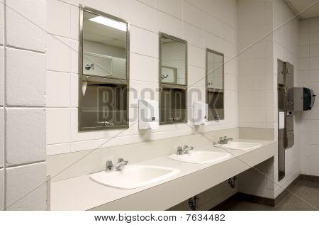 Stark Public Bathroom