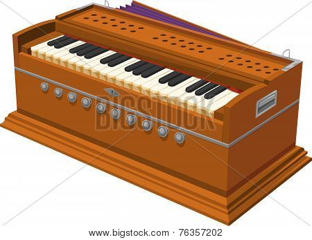 Vector Of Harmonium.
