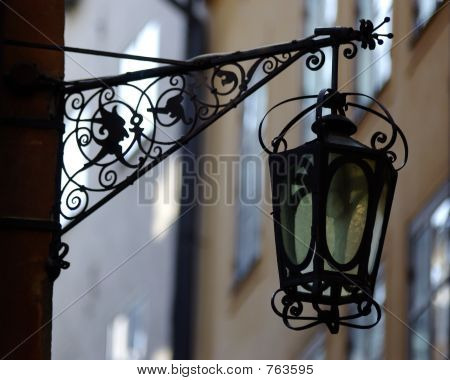 Streetlight in Stockholm