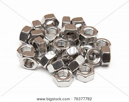 Galvanised Hexagon Nuts