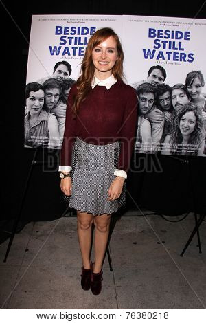 LOS ANGELES - NOV 16:  Ahna O'Reilly at the