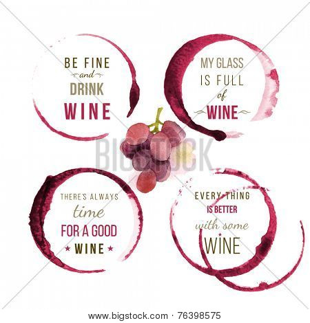wine type designs