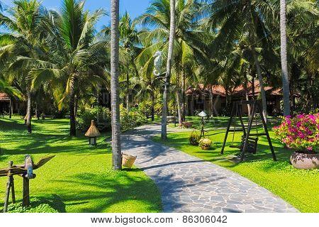 Seaside resort on the beaches of Phan Thiet