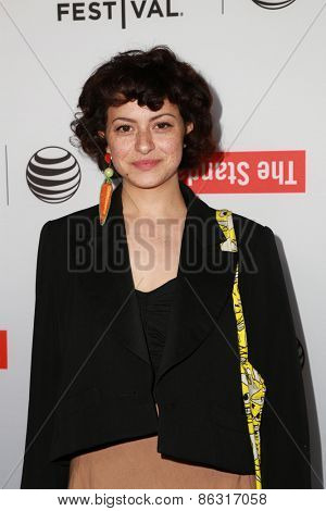 LOS ANGELES - MAR 23:  Alia Shawkat at the 2015 Tribeca Film Festival Official Kick-off Party at the The Standard on March 23, 2015 in West Hollywood, CA