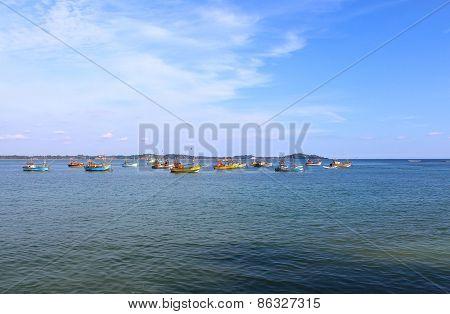 Fishing ships, Sri Lanka