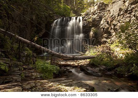 Lower Twin Falls Scenic