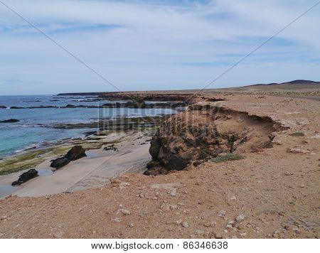Jandia nature park on Fuerteventura