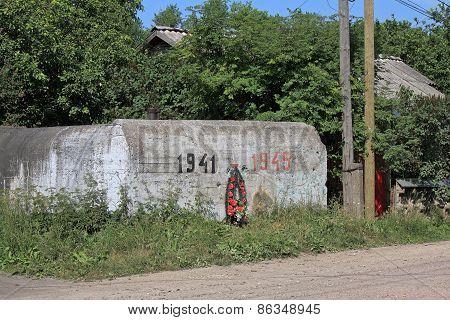World War Ii Pillbox In The Leningrad Region In Russia