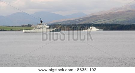 River Class, Fishery Protection Squadron.