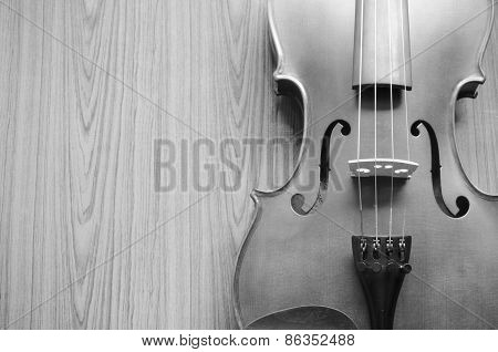 Black And White Violin