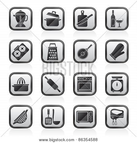 cooking tools icons