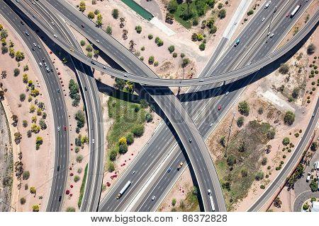 Raised Interstate Interchange