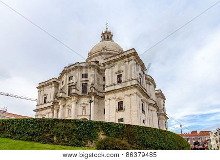 Church Of Santa Engracia (national Pantheon) In Lisbon, Portugal
