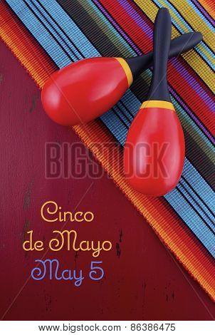 Happy Cinco de Mayo Concept