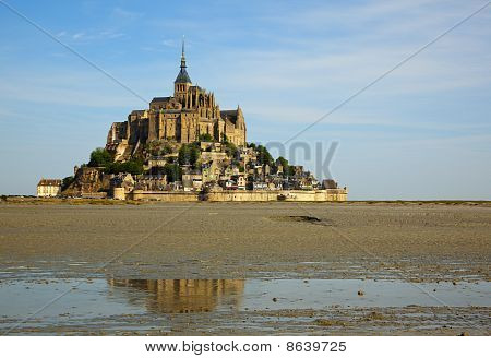 The Mont-St-Michel At Ebbtide