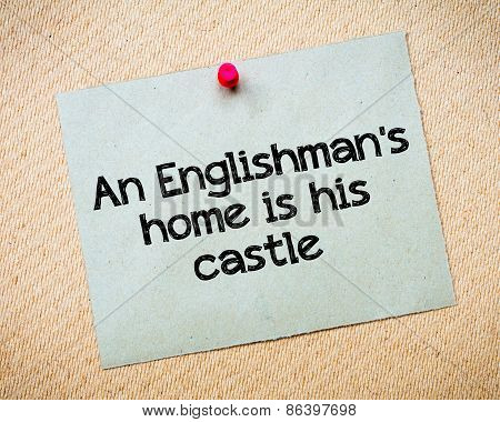 An Englishman's Home Is His Castle