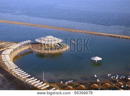 Beach On The Dead Sea
