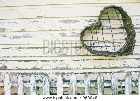 Picket Fence Heart