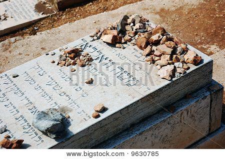 Jewish Gravestone