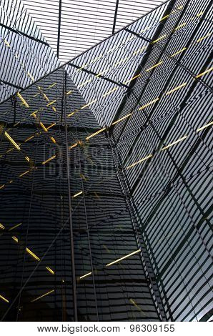 Abstract Building Reflections