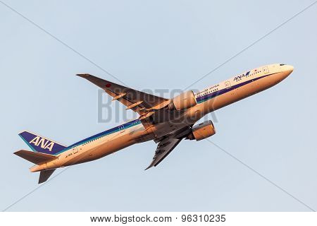 Boeing 777-300Er Of The All Nippon Airways