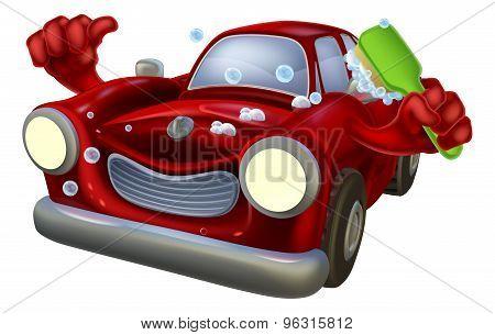 Cartoon Car Wash