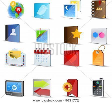 Sociale Media Icon Set