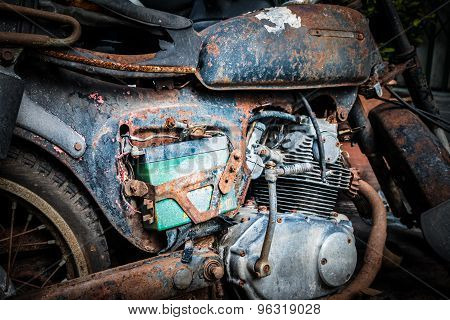 Old  Motocycle