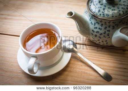 Tea Cup And Tea Pot 3