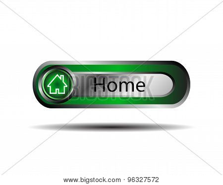 Home internet icon vector design illustration template.