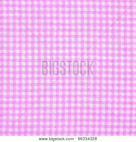 trendy checkered gingham textile - vichy design poster