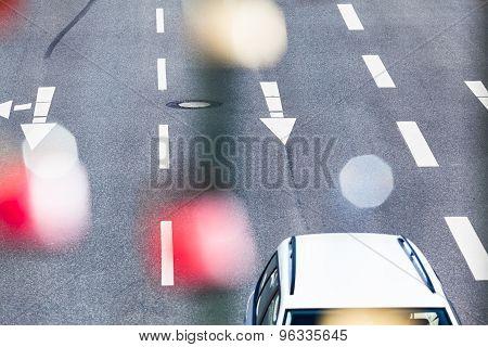 Dreamy Road Scene