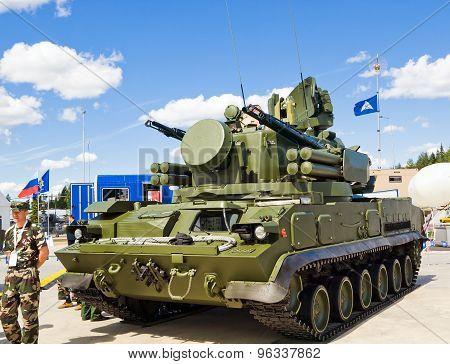 Anti-aircraft missile-gun complex