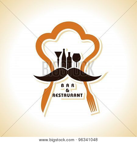 Restaurant menu design stock vector