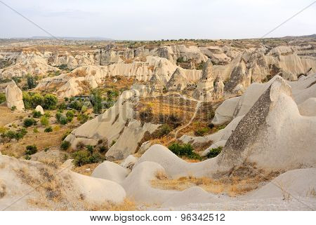 Fairy Chimneys In Goreme Turkey