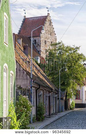Simrishamn Street Scene