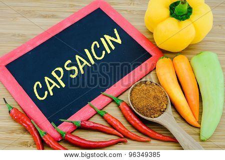 Capsaicin In Chili Peppers