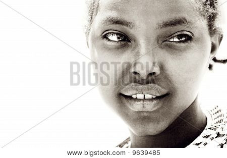 African Girl Portrait