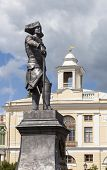 Monument to Paul I, which is located in St. Petersburg, in the city of Pavlovsk, at the Pavlovsk Palace, was modeled Ivan Petrovich Vitali - Russian sculptor. poster