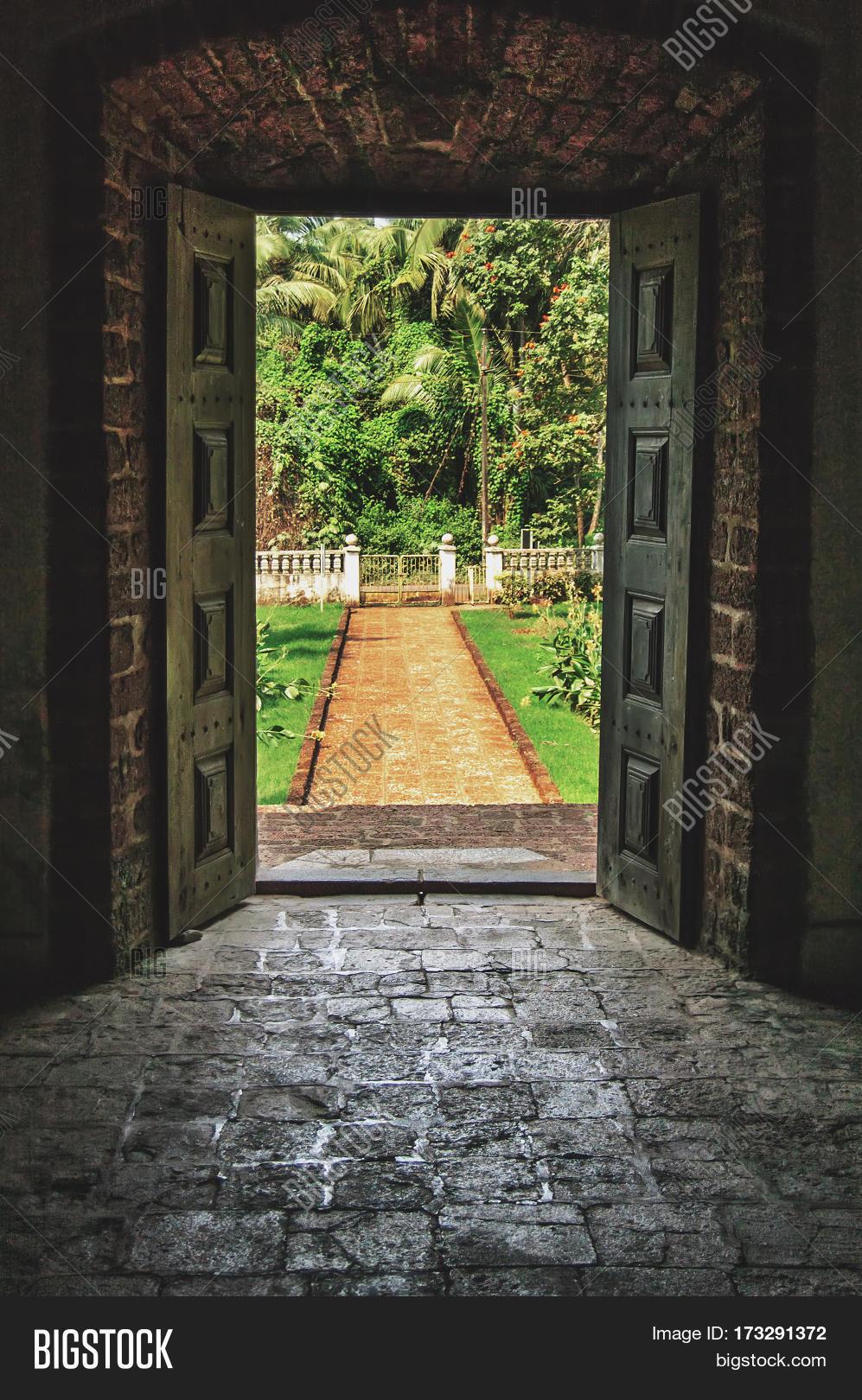 Open Doors Tropical Image Amp Photo Free Trial Bigstock