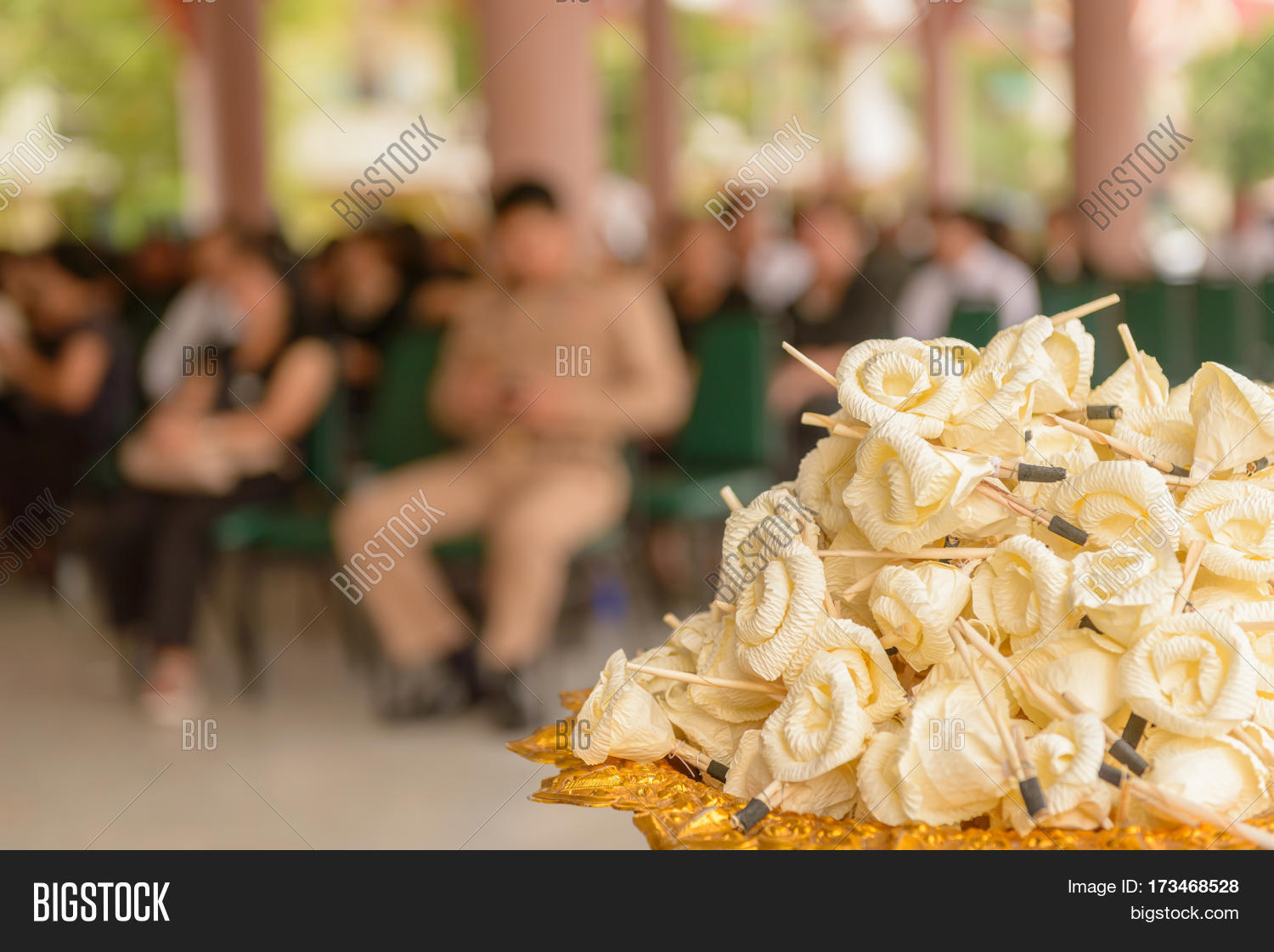 Sandalwood flowers image photo free trial bigstock sandalwood flowers or artificial flowers or wood cremation flower kind of wood flower to be placed izmirmasajfo