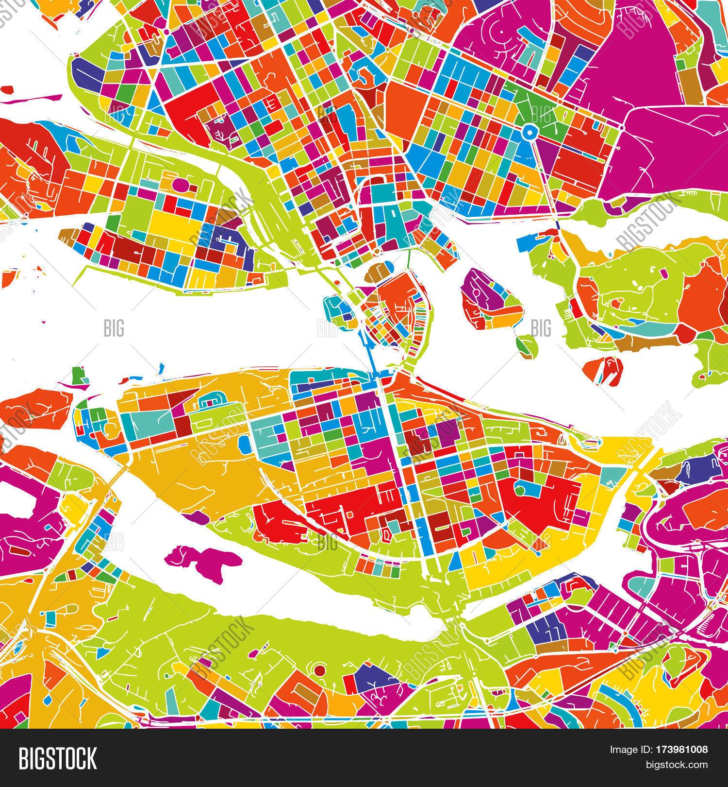 Stockholm Sweden Vector Photo Free Trial Bigstock