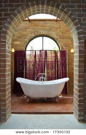 Interior Of Vintage Bathroom