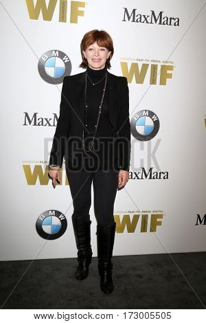 LOS ANGELES - JUN 15:  Frances Fisher at the Women In Film 2016 Crystal and Lucy Awards at the Beverly Hilton Hotel on June 15, 2016 in Beverly Hills, CA